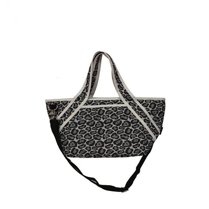 Jingle Jungle Radiant Mom Cooler Tote Crossbody Bag (Grey Pebbles)