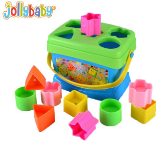 Jolly baby boutique building blocks box