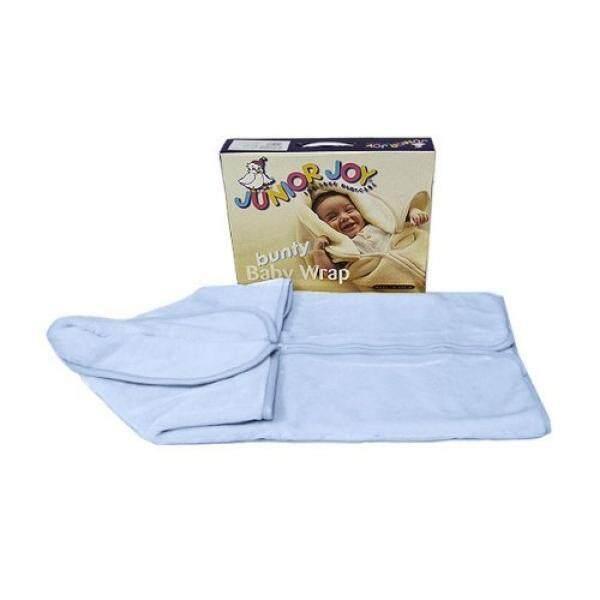 Junior Joy Baby Plain Bunty Wrap, Blue - intl