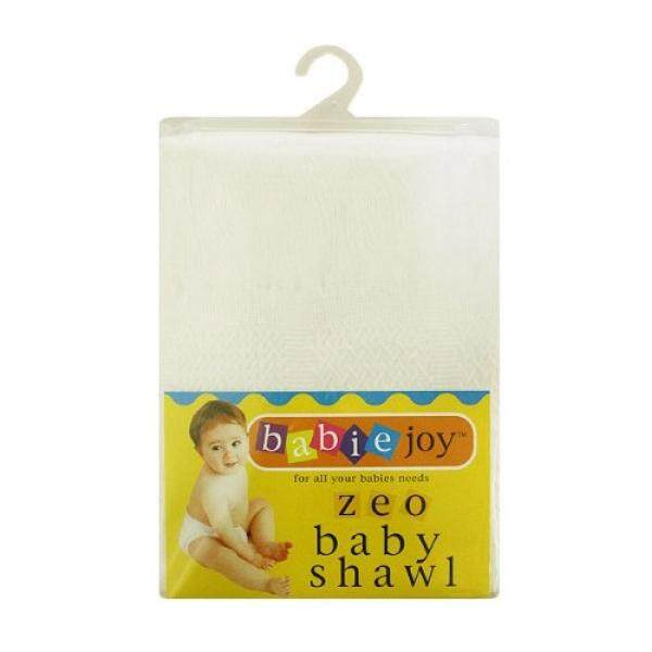 Junior Joy Zeo Check Baby Shawls, Cream - intl