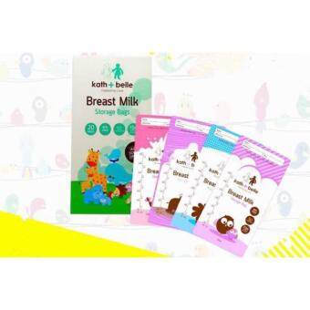 Harga Kath+Belle Breast Milk Storage Bags (300ml)