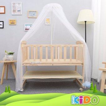 Kido House - Limited Offer Multi-functional Baby Wooden Cot BabyCrib Kids Bed