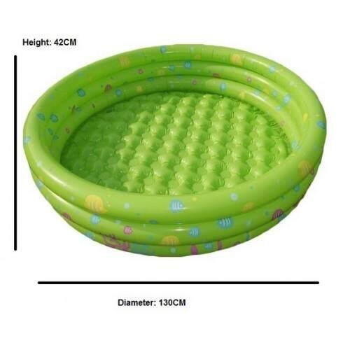 Kid's 3 Ring Pool (Pre Order ETA 27/10) Green