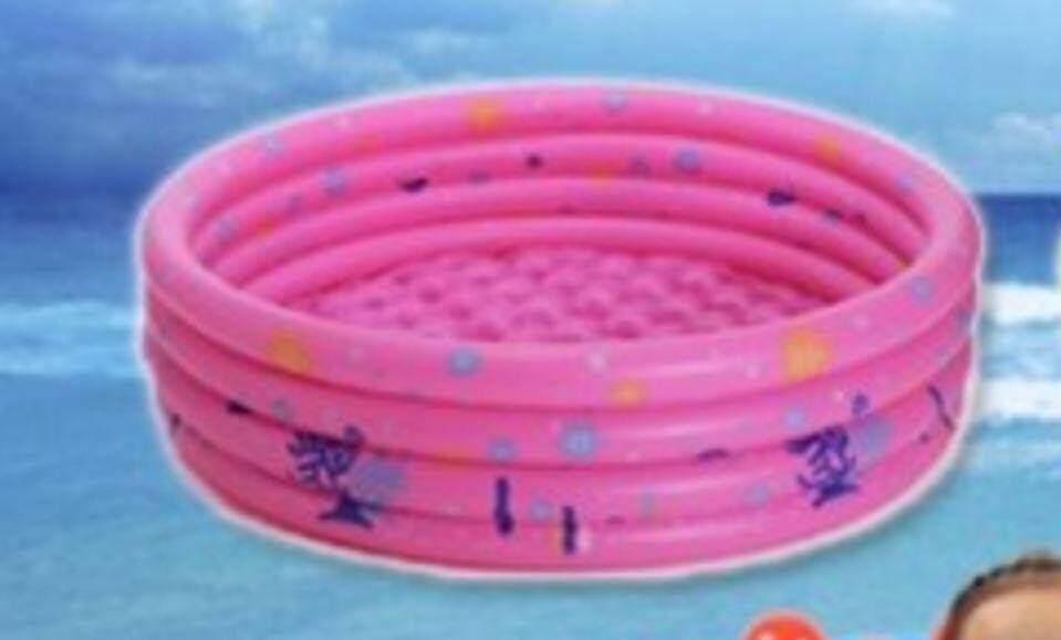 Kid's 3 Ring Pool (Pre Order ETA 27/10) Pink