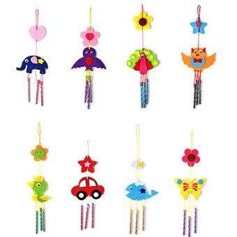 Harga Kids Child DIY Wind Chimes Aeolian Bells Educational Puzzle ToysCraft Kits