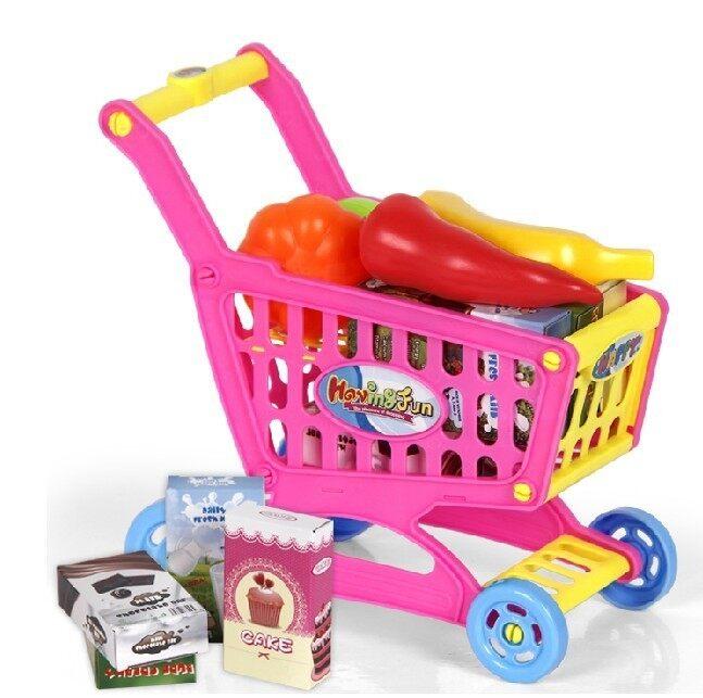 Kids Kitchen Play Set - Pink