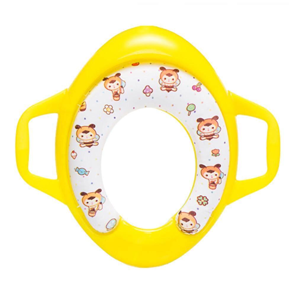 Anak-anak Potty Lingkaran Kursi Toilet Latihan untuk Anak Laki-laki dan Perempuan untuk Bulat dan Lonjong Toilet Biru-Internasional