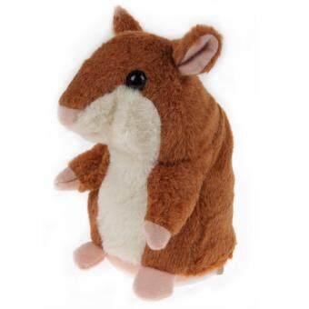 Kids Speak Talking Hamster Sound Record Plush Toy