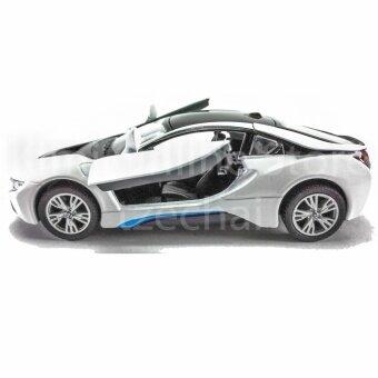 Features Kinsmart Diecast Car 1 36 Bmw I8 Blue Silver White Black