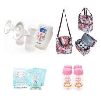 Harga Lacte Duet Electric Breastpump Combo Deal