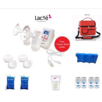 Harga Lacte Duet Electric Breastpump Package A