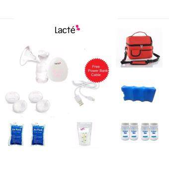 Harga Lacte Solo Electric Breastpump Package A