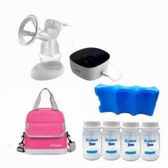 Harga Lacte Solo Elite Rechargeable Electric Breastpump Package