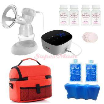 Harga Lacte Solo Elite Rechargeable Electric BreastPump Value Package