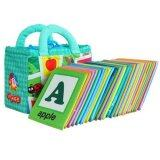 Lalababy Wasahable Cloth Card 26 Alphabets 0-3 Baby Infant Early Education Toy Book Set