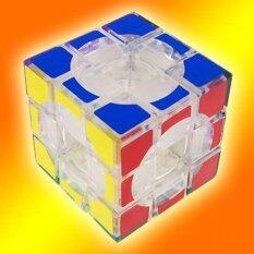 Lanlan 3X3X3 Void Puzzle Speed Cube Transparent