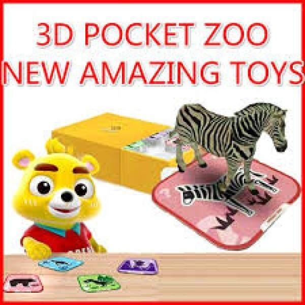 Learn through games! Neo Bear 3D Pocket Zoo