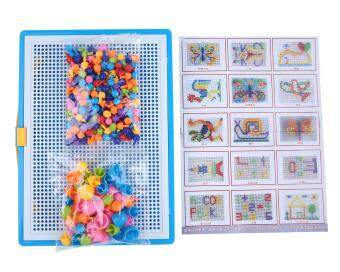 Harga Leegoal Creative Mushroom Nails Intelligence Learning EducationPegboard