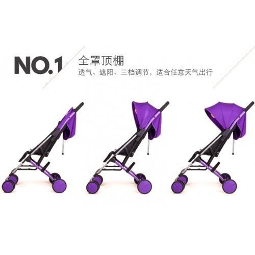 LIGHT WEIGHT STROLLER Purple