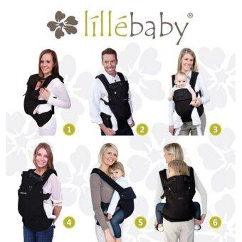 Lillebaby: Complete Airflow Baby Carrier (Black) - 3