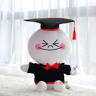 Harga Lin graduation Dr. cap cloth doll small raging