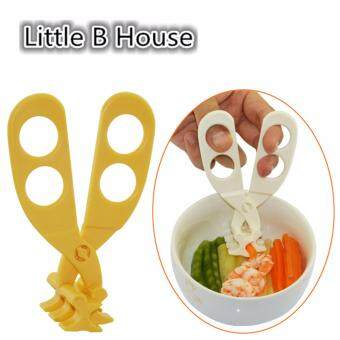 [Little B House] Multi-functional Baby Food Shear BB1010 Scissors (whitout box) -AP1305