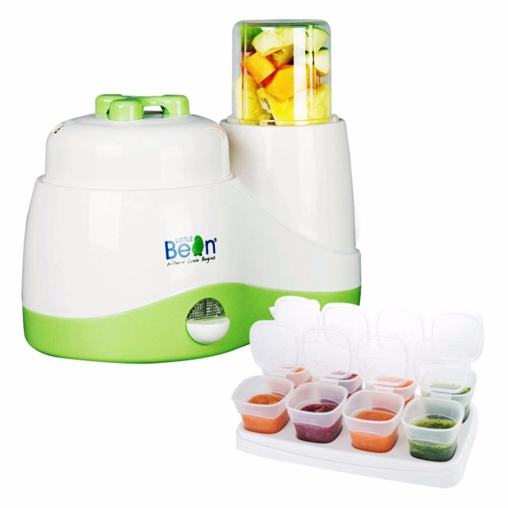 Little Bean Multifunction Food Processor + Little Bean Food Freezer Cube