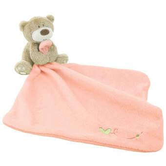 Harga Lovely Bear Baby Security Blanket Pink