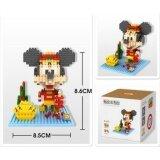 Loz 9439 Mickey from Cute New Year Mickey Series Loz Nano/Diamond Block Figure