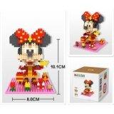 Loz 9440 Minnie from Cute New Year Mickey Series Loz Nano/Diamond Block Figure