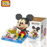 Loz 9634 Babysitter Mickey from Cute Disney Mickey And Friends in Action Loz Nano/Diamond Block Figure