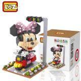 Loz 9635 Minnie on Bike from Cute Disney Mickey And Friends in Action Loz Nano/Diamond Block Figure