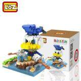 Loz 9637 Donald Duck Rowing Boat from Cute Disney Mickey And Friends in Action Loz Nano/Diamond Block Figure