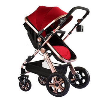 Luxurious Bassinet Extreme Stroller 2016 RED