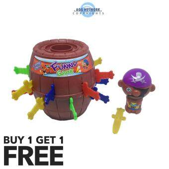 Harga MAGIC Pop Out Jump Pirate Toys Fun Game | Genius Puzzle Toys For Kids | Buy 1 FREE 1