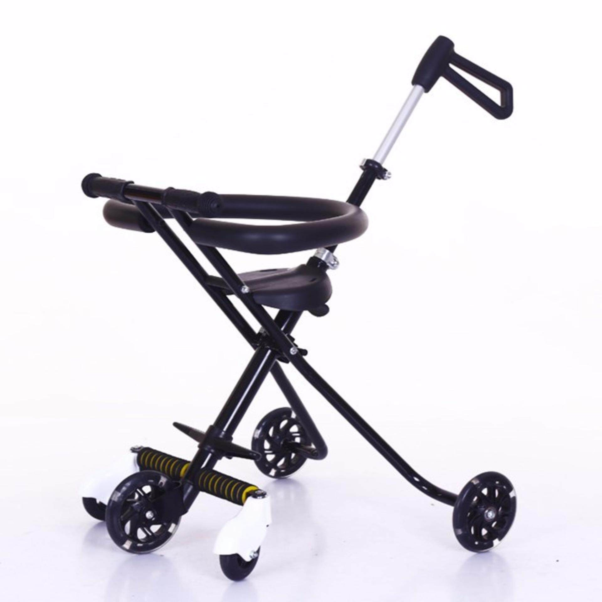 High Quality Korea Magic Stroller 5 Wheel with safety ring lightweight trolley folding children men and women 6-yo baby carry