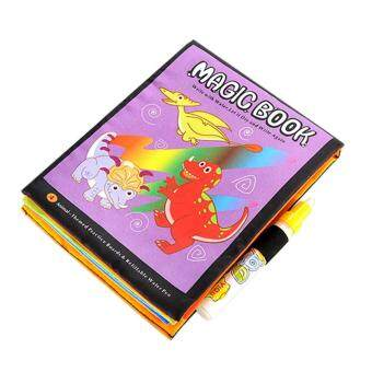 Magic Water Drawing Book Coloring Doodle Pen Animals Painting