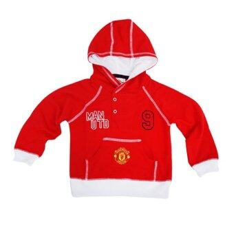 Manchester United Hooded Jacket (Red)
