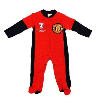 Harga Manchester United Newborn Long Romper ( Red)