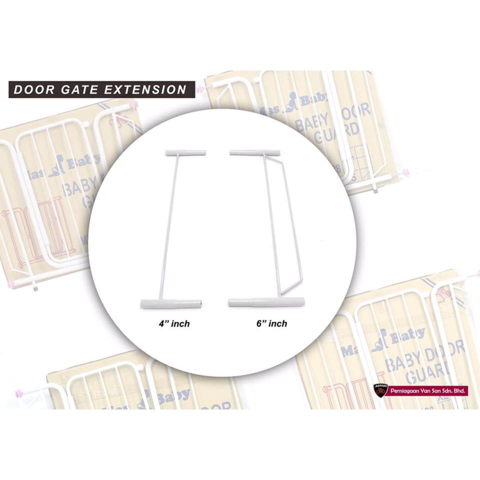 Mas Baby Safety Gate Extension 4 Inches