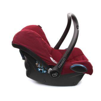 Maxi Cosi Infant Carrier Cabriofix RED ROBIN - 0-13KG - Infant Baby suitable car seat (Made in Holland) - Compatible with Quinny Zapp Xtra Stroller - BUILT IN Adapters for QUINNY strollers - 2017 NEW ARRIVAL - MAXICOSI/ MAXI-COSI - 2