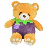 Maylee Cute Fruit Bear 30cm Purple (Grape) toys for girls