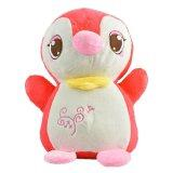 Maylee Cute Plush Penguin  25cm (Red) toys for girls