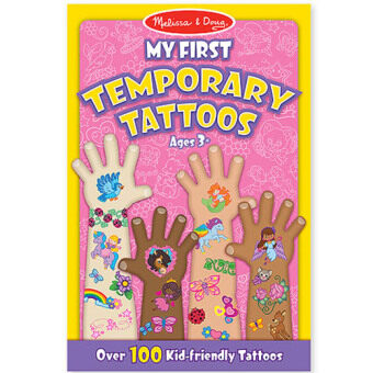 MELISSA & DOUG Tattoo Book - Girl