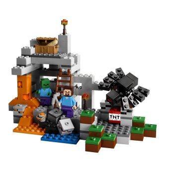Review Minecraft 10174 Lego 251pcs Dan Harga Terkini Toko Baru