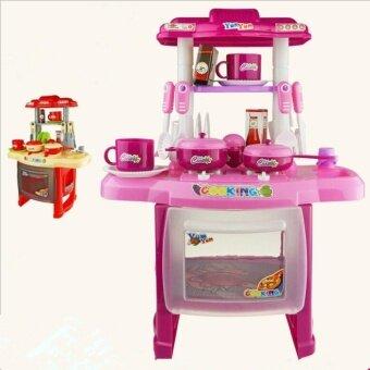 Mini Kitchen Fun Playset With Full Utensils Set