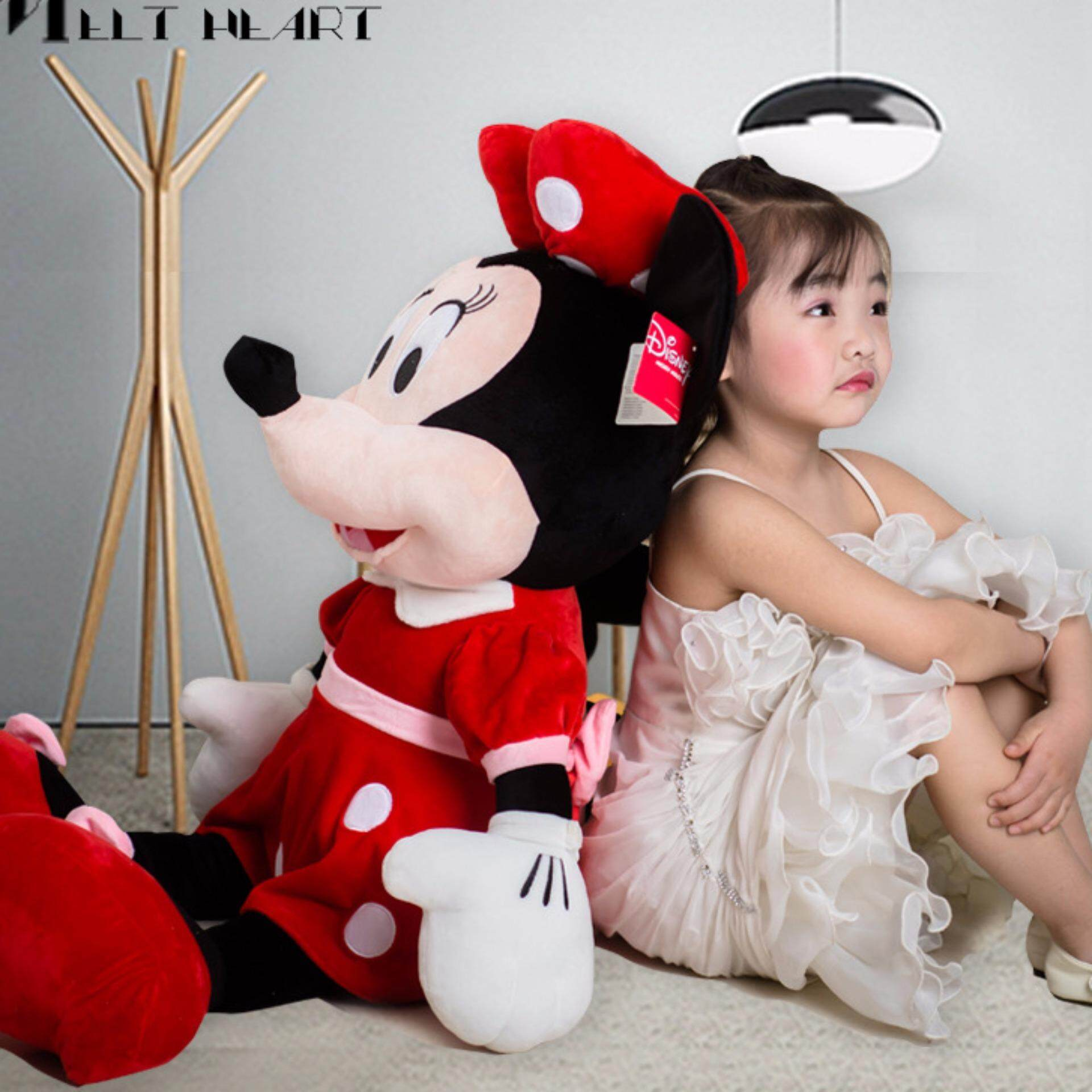 Mitch Mini Mi Mouse Plush Toy couple to celebrate the baby doll 20cm - intl