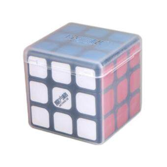 Harga MoFangGe Thunderclap 3x3 Speed Cube Smooth Magic Cube Puzzle 56mm with Storage Cube Box Black