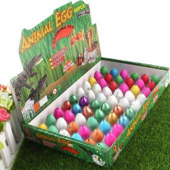 Harga MOON STORE Small 2X3CM dinosaur egg hatching eggs: mixed color 60 /box