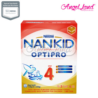 Harga NANKID(R) OPTIPRO(R) 4 MILK (3-6YEARS OLD) 1.3KG